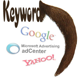 Keyword with long tail