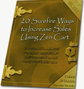 20 Ways to Increase Sales With Zen Cart